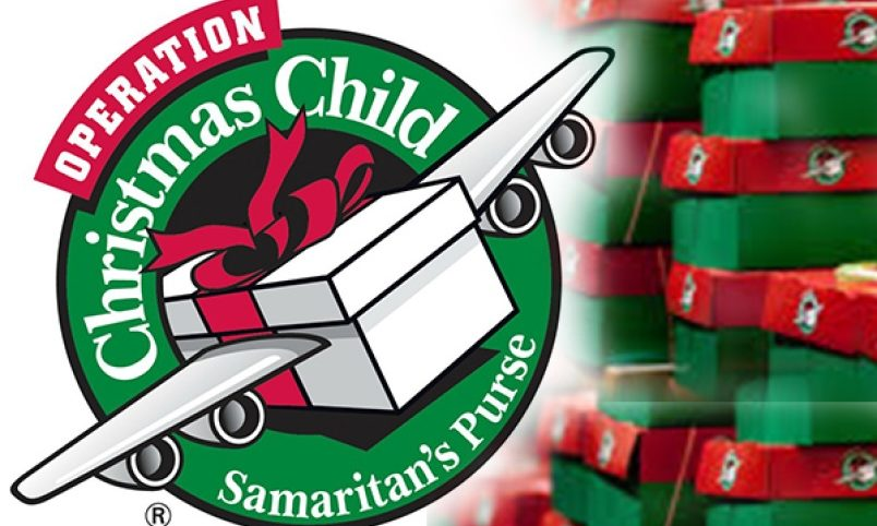 Turn In Operation Christmas Child Shoeboxes by Nov. 10th